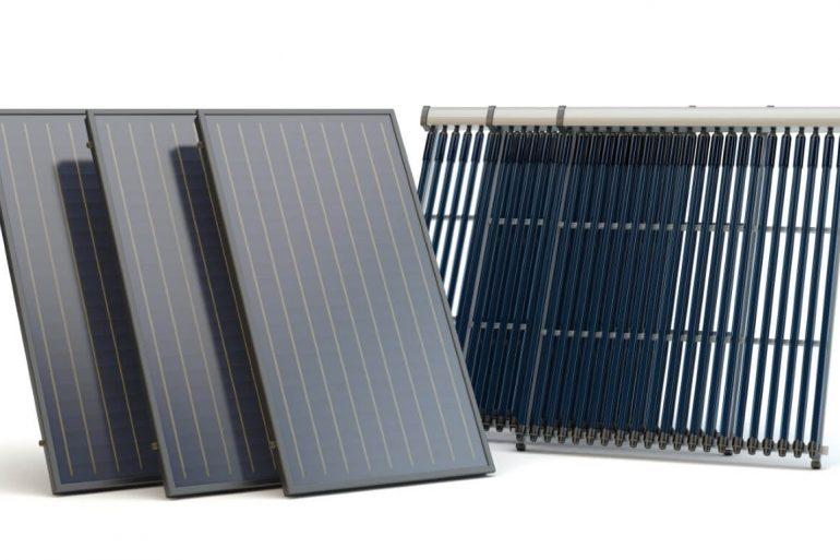 kolektory i panele słoneczne