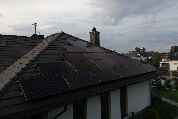 sun energy solutions - panele słoneczne full black