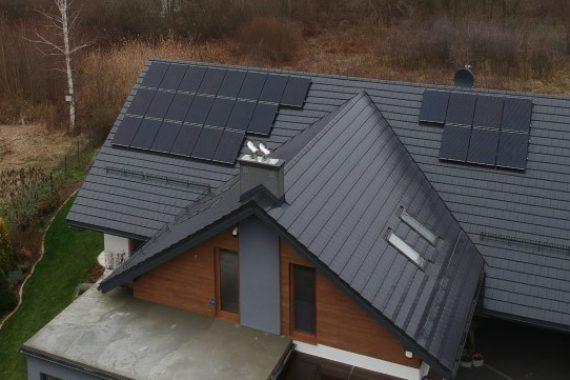 panele słoneczne full black