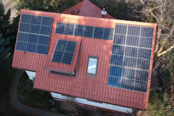 instalacja paneli słonecznych - 6,6 kw