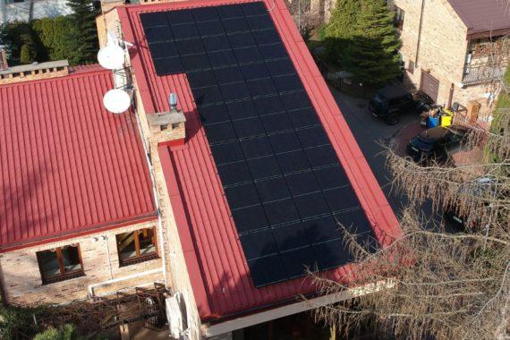 instalacja fotowoltaiczna - 9,9 KW - marzec 2020