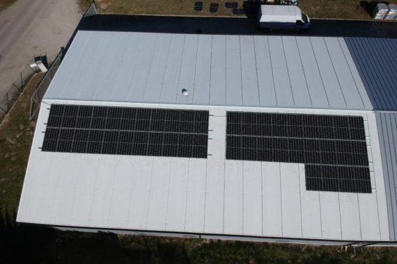 instalacja fotowoltaiczna 14,52 KW - kwiecień 2020