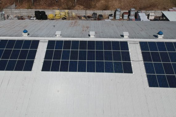instalacja fotowoltaiczna 25 KW - kwiecień 2020