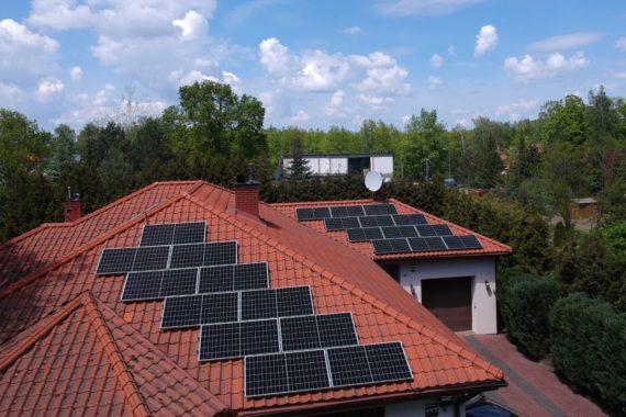 instalacja fotowoltaiczna 8 kw - maj 2020 - dom jednorodzinny