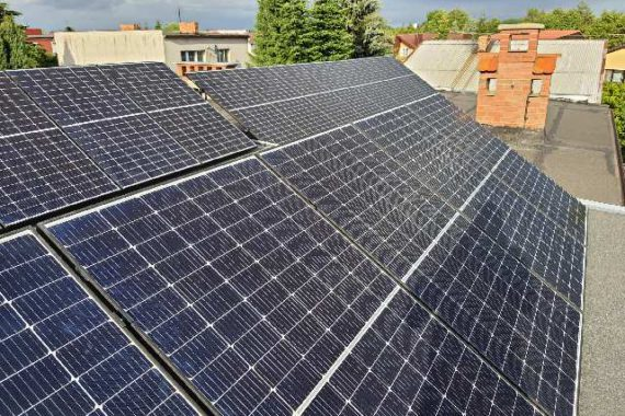 Instalacja fotowoltaiczna o mocy 6,7 KW - Dach płaski - Czerwiec 2020