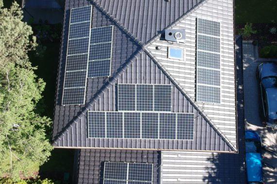 Instalacja fotowoltaiczna, moc 8,64 KW - Lipiec 2020