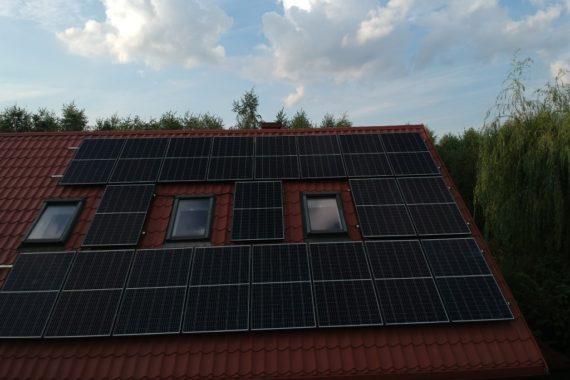 Instalacja fotowoltaiczna - 6,6 KW - Wrzesień 2020