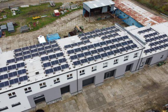 Instalacja fotowoltaiczna - 48,3 kWp