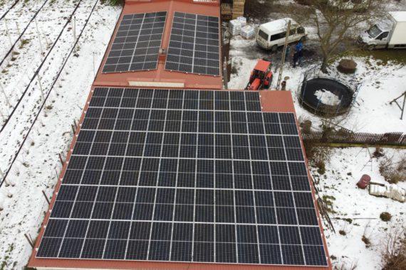 Instalacja fotowoltaiczna - 49,7 kWp