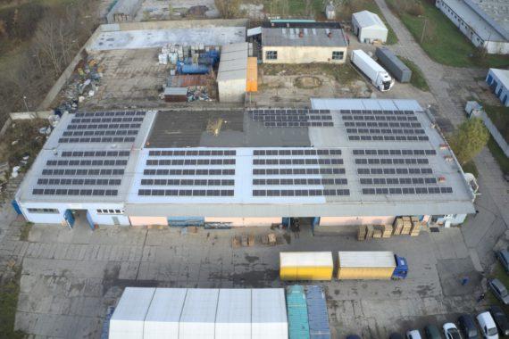 Instalacja fotowoltaiczna - 99,44 kWp