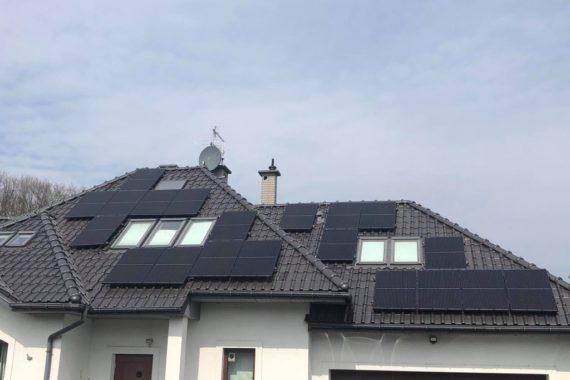 Instalacja fotowoltaiczna - 6,9 kWp - Kwiecień 2021
